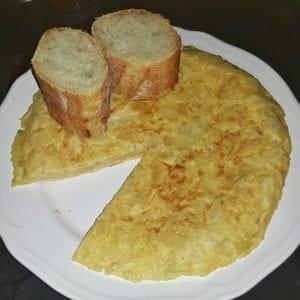 Tortilla en tiendas españolas en Londres