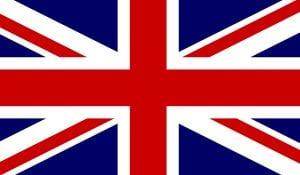 Banderas de Reino Unido Union Jack