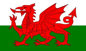 Banderas del Reino Unido: bandera de Gales