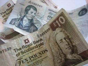 Vivir y buscar trabajo en Escocia: Economía y dinero de Escocia