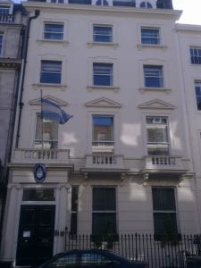 Buscar trabajo y representación del gobierno con la Embajada de Argentina en Londres