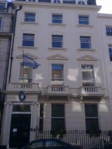 Buscar trabajo y representación del gobierno con la Embajada de Argentina