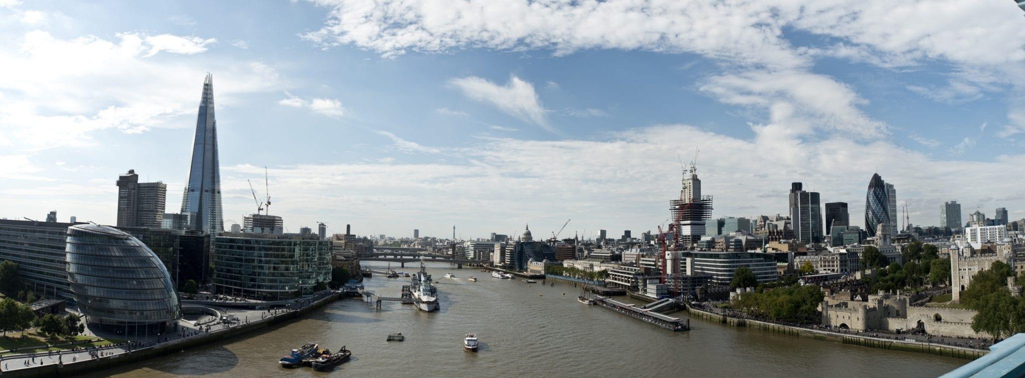 Ciudades de Inglaterra más pobladas: Londres, la capital