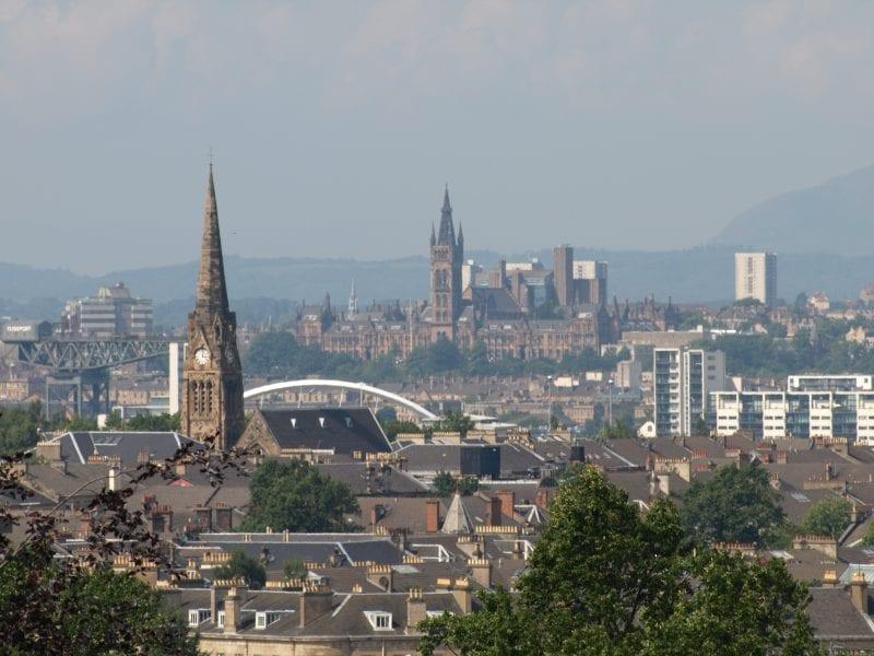 Población de españoles en Glasgow