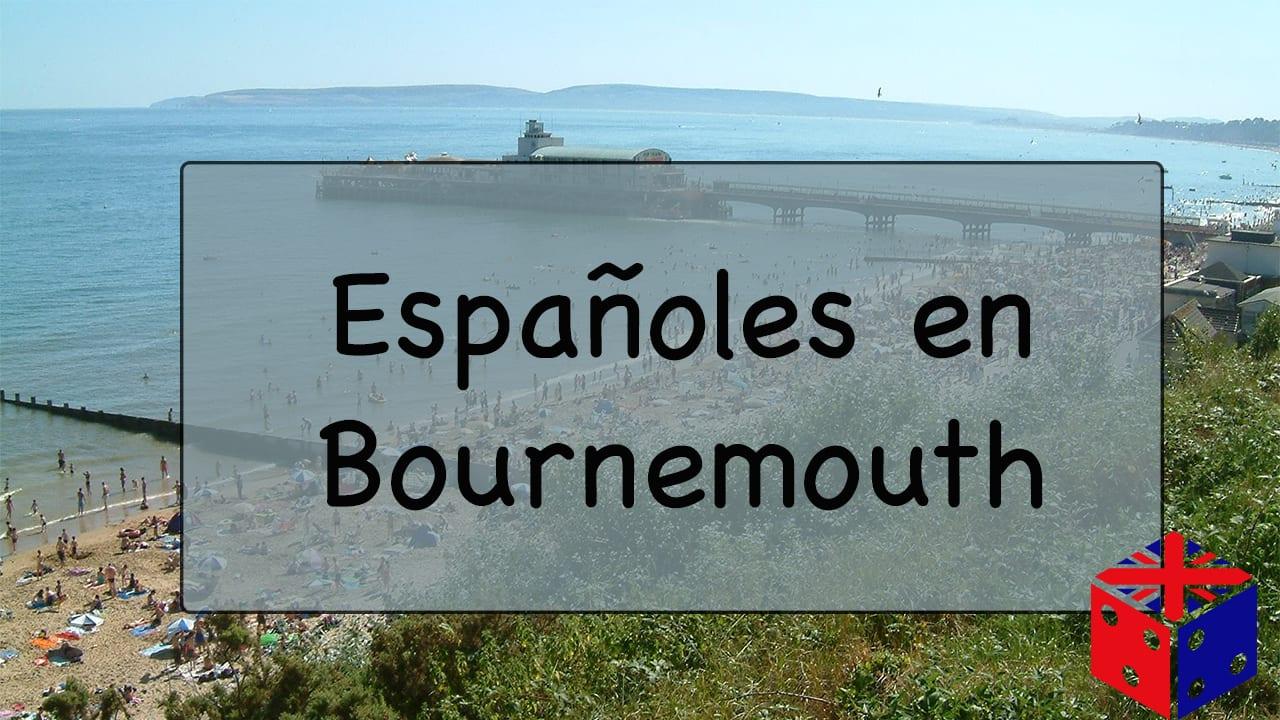 Españoles en Bournemouth, Reino Unido