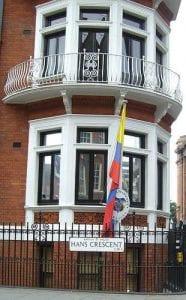 Viajar y hacer trámites en la Embajada de Colombia en Londres