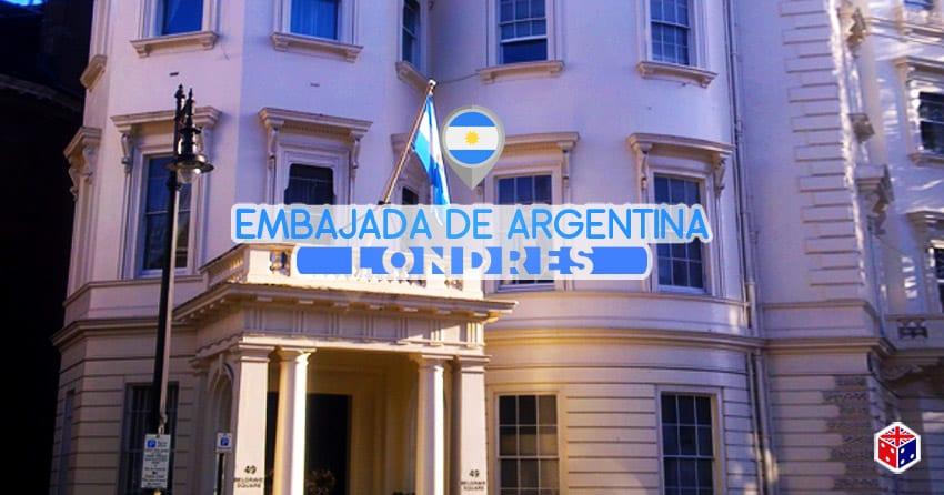 embajada de argentina en londres reino unido