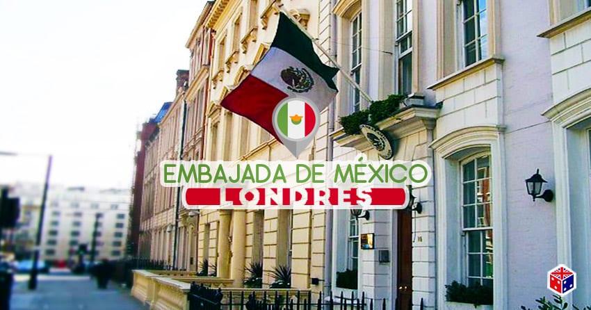 viajar a la embajada mexico en londres