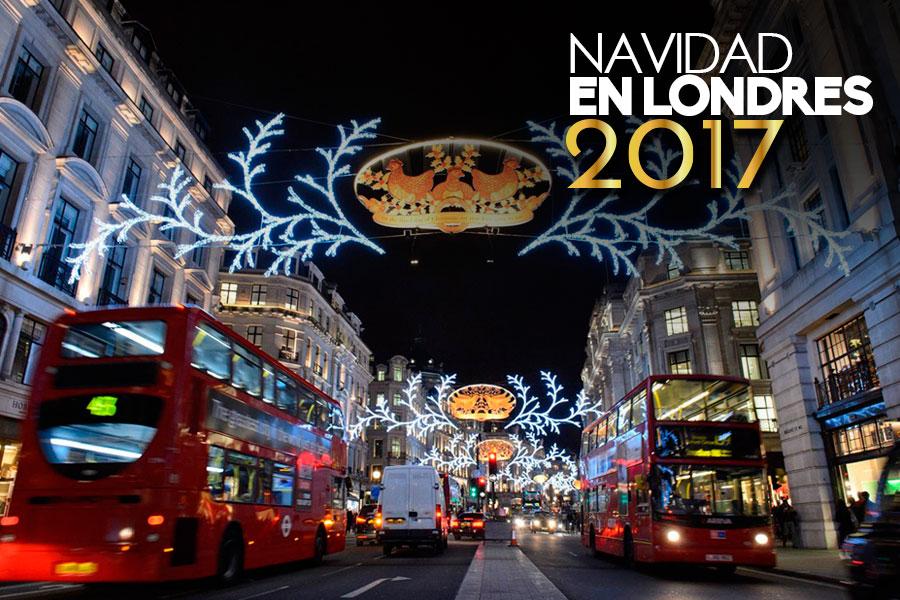 Navidad Christmas en diciembre en Londres