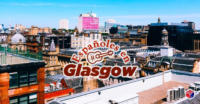 mundo de españoles en glasgow escocia