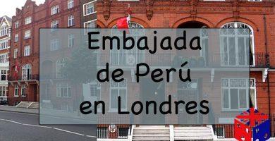 Embajada de Perú en Londres, Reino Unido