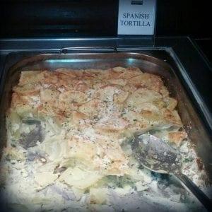 Comida típica de Inglaterra: Tortilla española