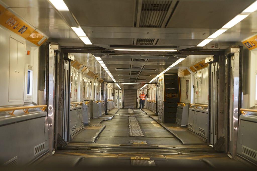 Túnel ferroviario Eurotunnel