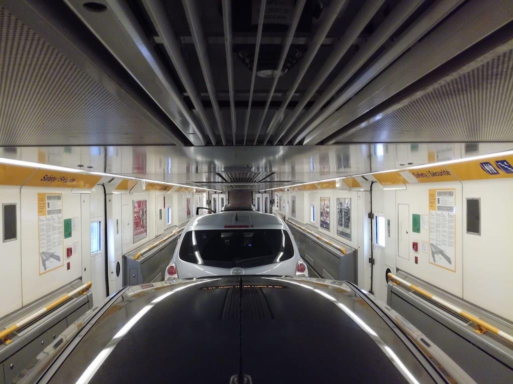 Ir con tu coche o vehículo propio a través del Eurotunnel