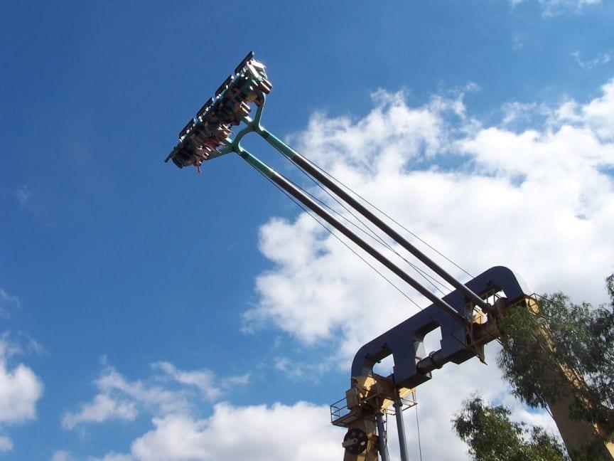 el thorpe en el park se eleva alto