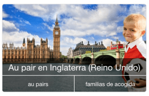 AuPairWorld en Europa, Inglaterra, España...