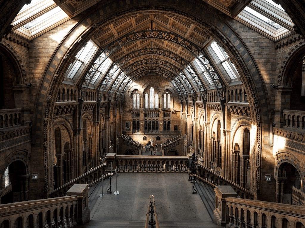 Monumentos de Londres: Museu de Historia Natural