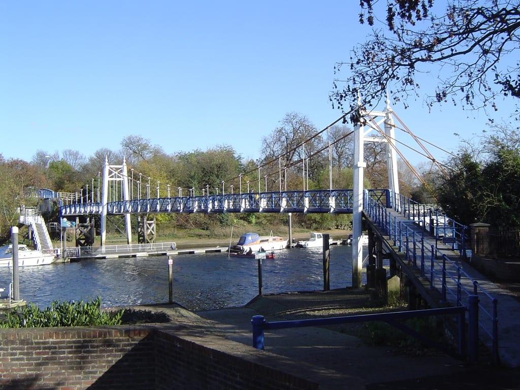 Puentes peatonales de Londres