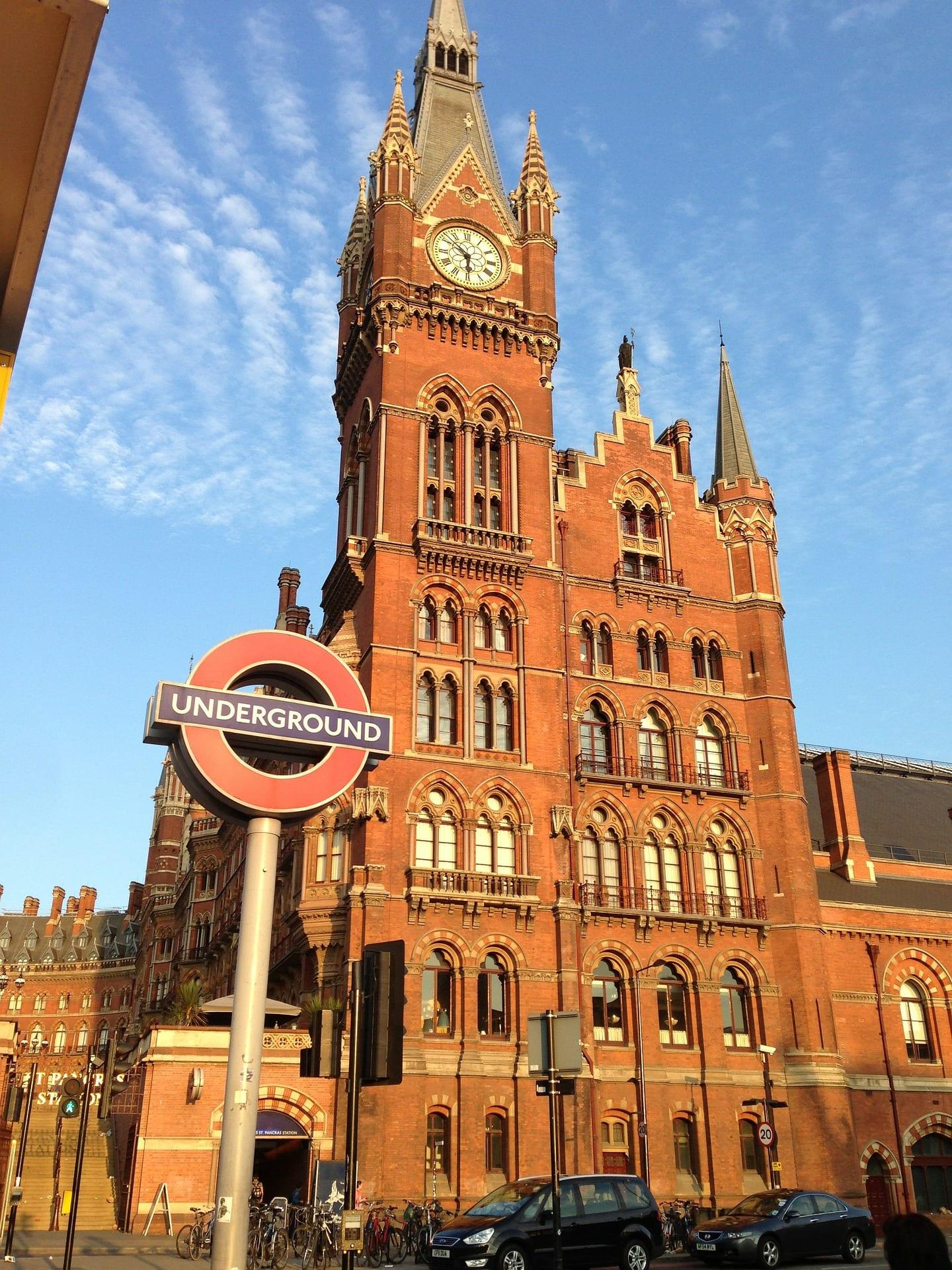 Monumentos de Londres: St Pancras Station