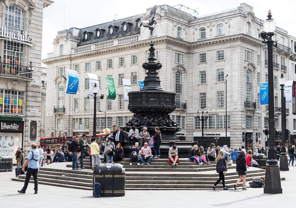 Monumentos de Londres: Piccadilly Circus