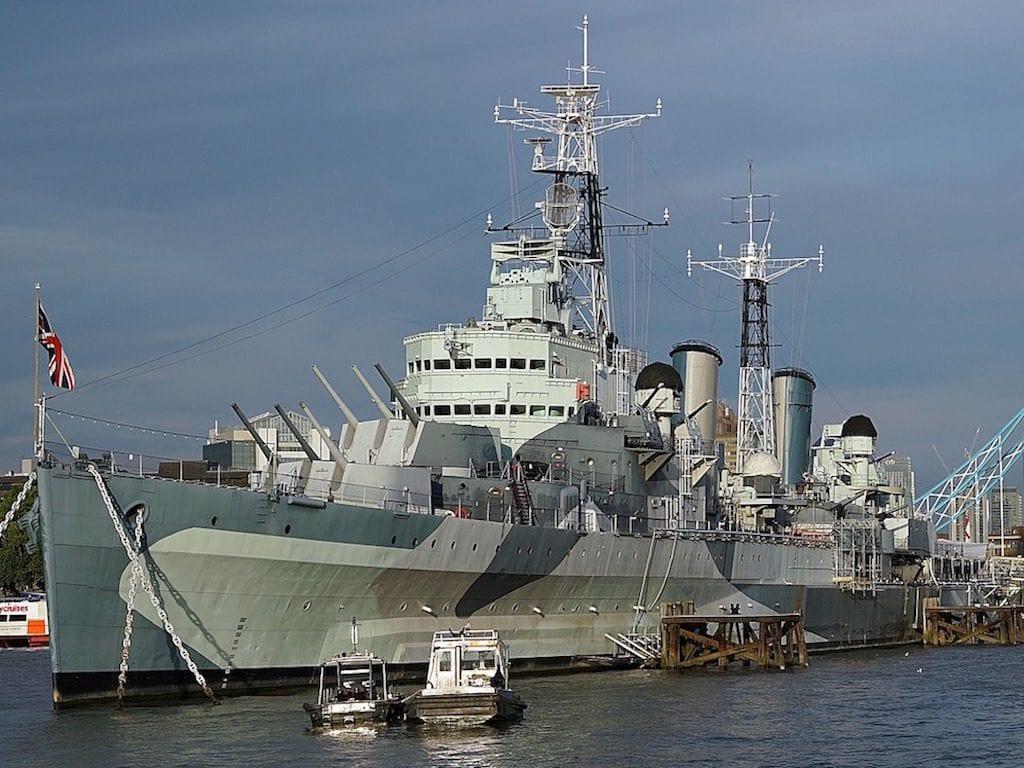 Monumentos de Londres: HMS Belfast