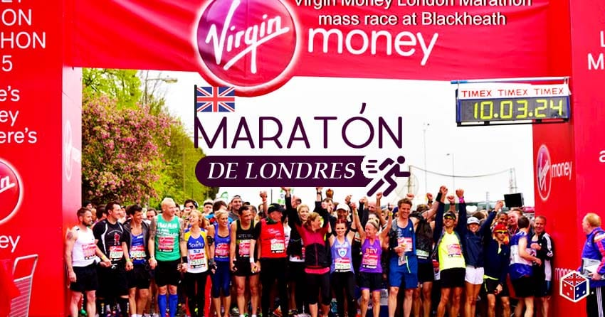 recorrido de la maraton de lomdres