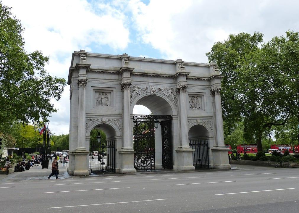 Monumentos de Londres: Marble Arc