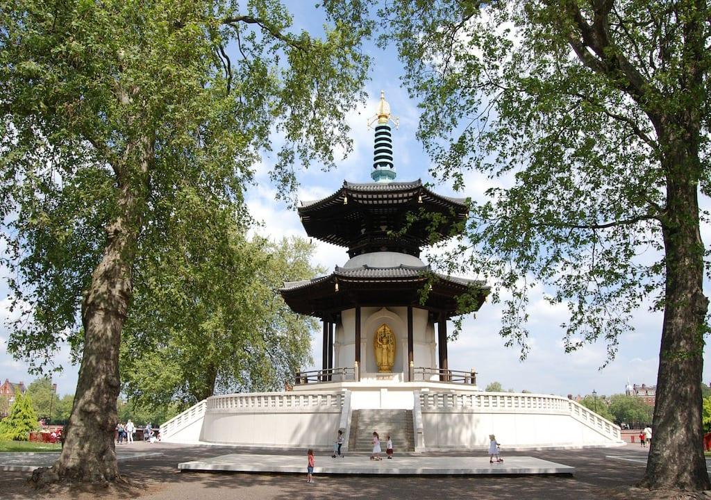 Monumentos de Londres: Peace Pagoda