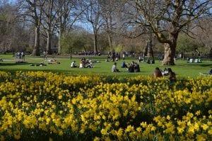Tiempo en Semana Santa en Londres