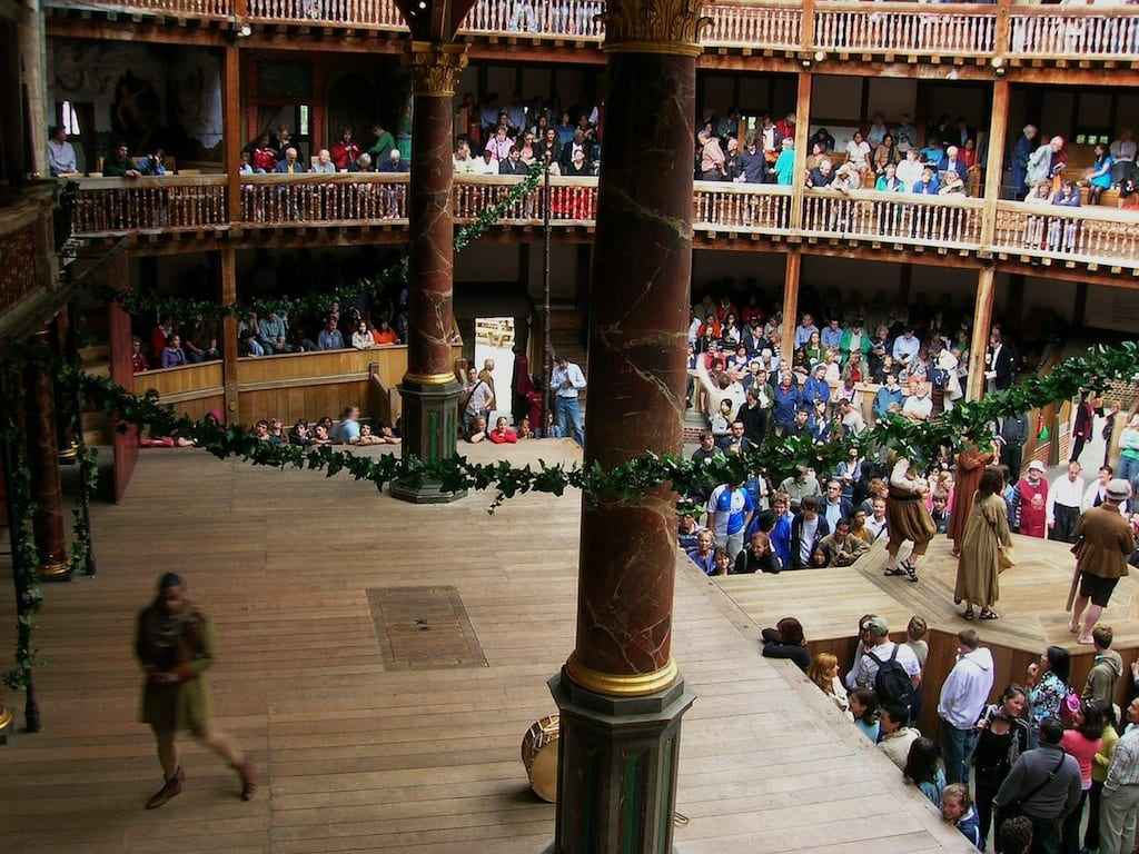 Monumentos de Londres: Shakespeare's Globe Theatre