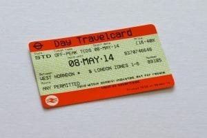 Cómo funciona Viajar en Londres con Travelcard