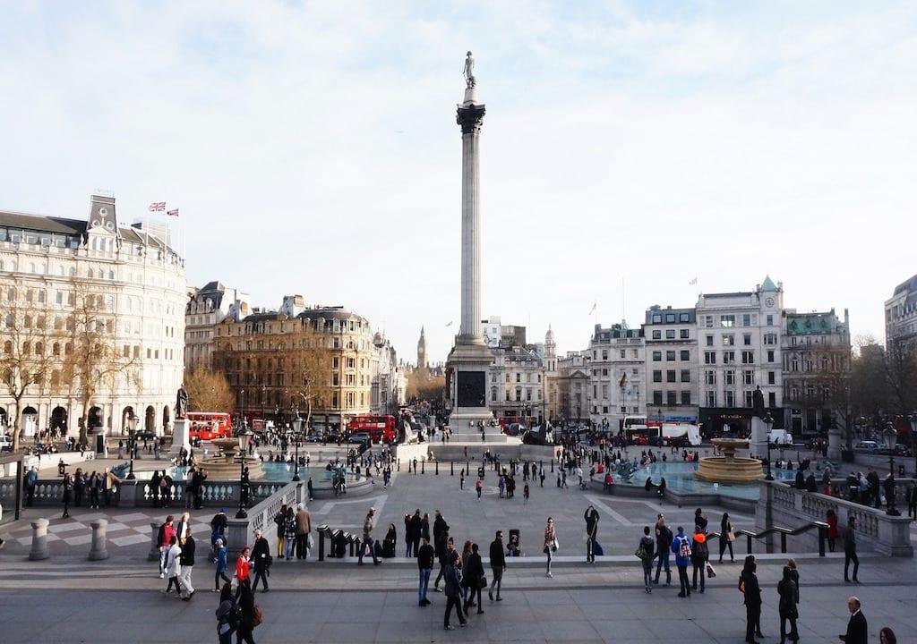 Monumentos de Londres: Trafalgar Square
