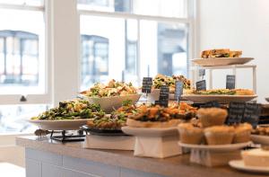 Restaurante o café vegetariano en Londres