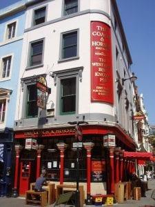 Restaurante y pub vegetariano en Londres