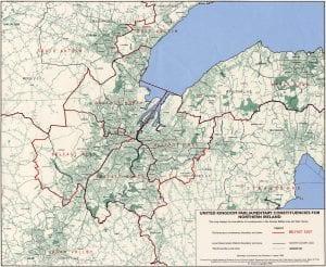 Mappa per vivere a Belfast