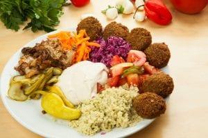 Restaurante mediterráneo y vegetariano en Londres