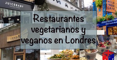 recorrido por restaurantes vegetarianos en londres