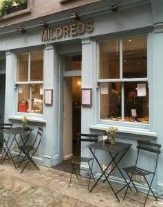Restaurante famoso vegetariano en Londres