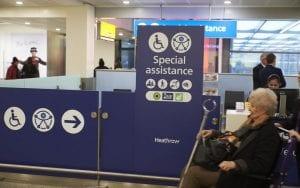 Aeropuerto de Londres accesible