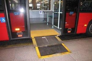 Autobús accesible en Londres