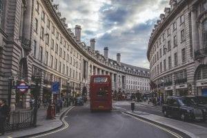 Calles en el viaje de fin de curso a Londres