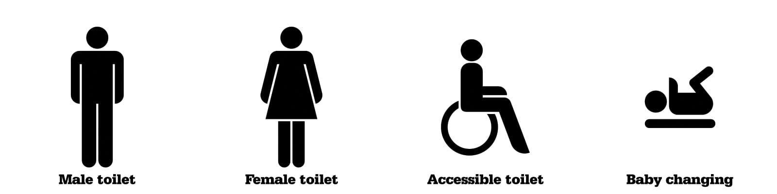 Baños en Londres accesible