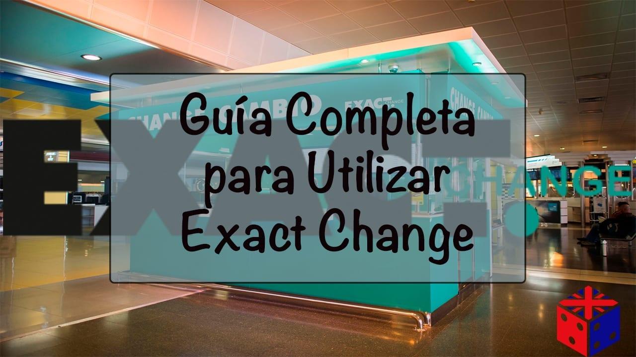 Cambio de moneda con Exact Change