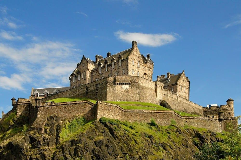 Visitar el Castillo de Edimburgo en Escocia