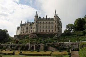 Vista desde abajo del Castillo de Inverness