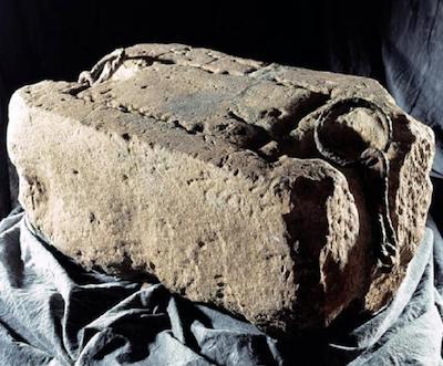 Piedra del destino o piedra de Scone