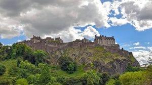 Historia y vistas del Castillo de Edimburgo