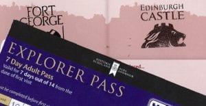 tarjeta de turismo Escocia