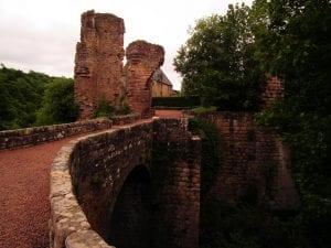 Visitar el castillo de la ciudad de Roslin