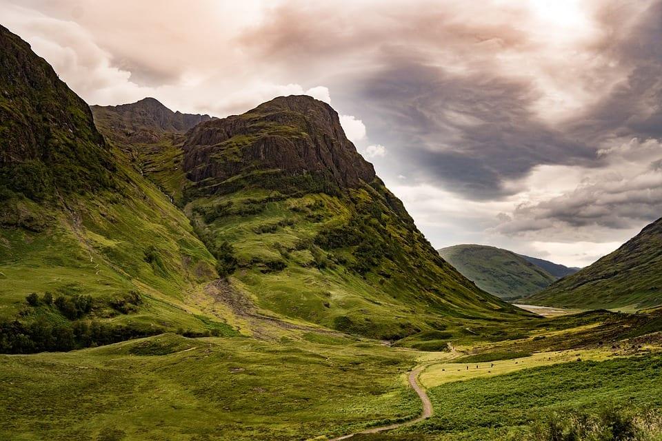 Valle Escocés de Glencoe